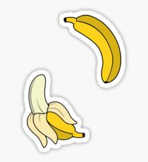 Banana. Sticker