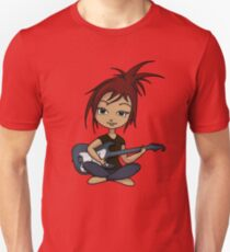 Guitar Chick (version 2) Unisex T-Shirt