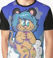 Cuddley Lion Graphic T-Shirt