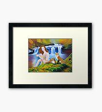 The Sacred Spring Framed Print