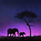 Moonlight Stroll by Linda Woodward