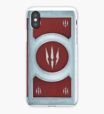 Witcher Gwent Monster Deck Backside art iPhone Case