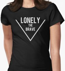 Lonely the brave Women's Fitted T-Shirt