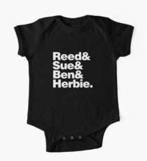 Reed&Sue&Ben&...Herbie! One Piece - Short Sleeve