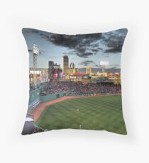 Dramatic Fenway Park Throw Pillow