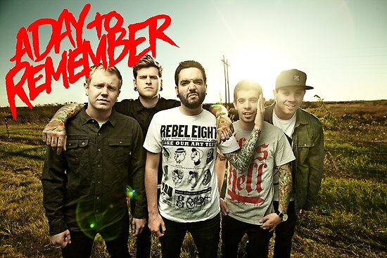 A Day to Remember Poster by tomwhitters