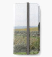 Tuscan countryside iPhone Wallet/Case/Skin