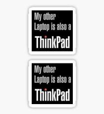Also a Thinkpad Sticker