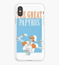 THE GREAT PAPYRUS iPhone Case/Skin
