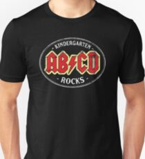 Vintage Kindergarten Rocks - dark Unisex T-Shirt