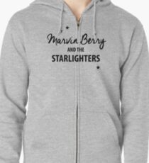 Marvin Berry & The Starlighters – BTTF, Marty McFly Zipped Hoodie