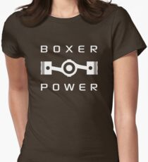 Boxer Power Women's Fitted T-Shirt