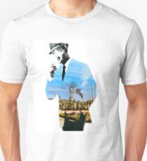 Mad men smokes Slim Fit T-Shirt