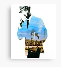 Mad men smokes Canvas Print