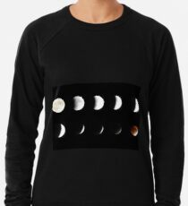 Supermond Mondfinsternis Leichtes Sweatshirt