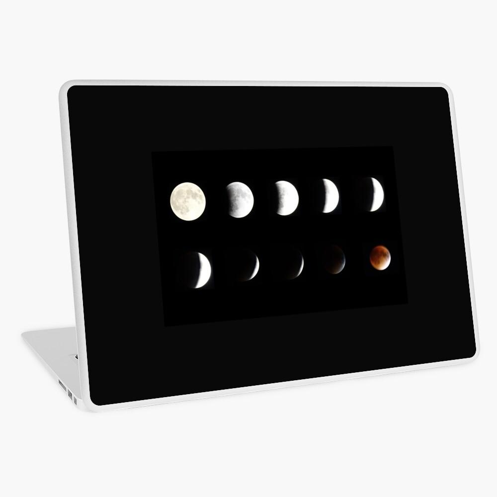 Supermoon Lunar Eclipse Laptop Skin
