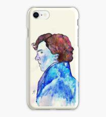 Sherlock Blue Watercolour iPhone Case/Skin