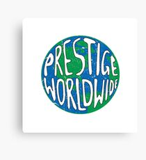 Vintage Prestige Worldwide Canvas Print