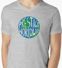 Vintage Prestige Worldwide Men's V-Neck T-Shirt