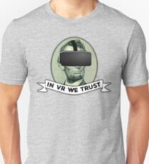 Funny Virtual Reality Player's Cool VR Parody (green) Unisex T-Shirt