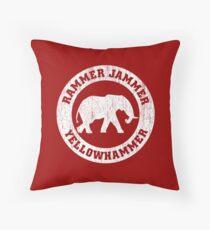 Vintage Rammer Jammer Throw Pillow