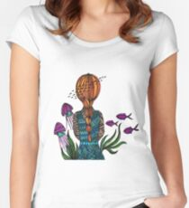 Underwater Women's Fitted Scoop T-Shirt