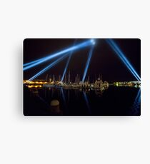 Articulated Intersect, Dark MOFO Canvas Print