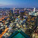 Bank of America Plaza Rooftop, Dallas by josephhaubert