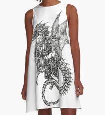 dragon tattoo A-Line Dress