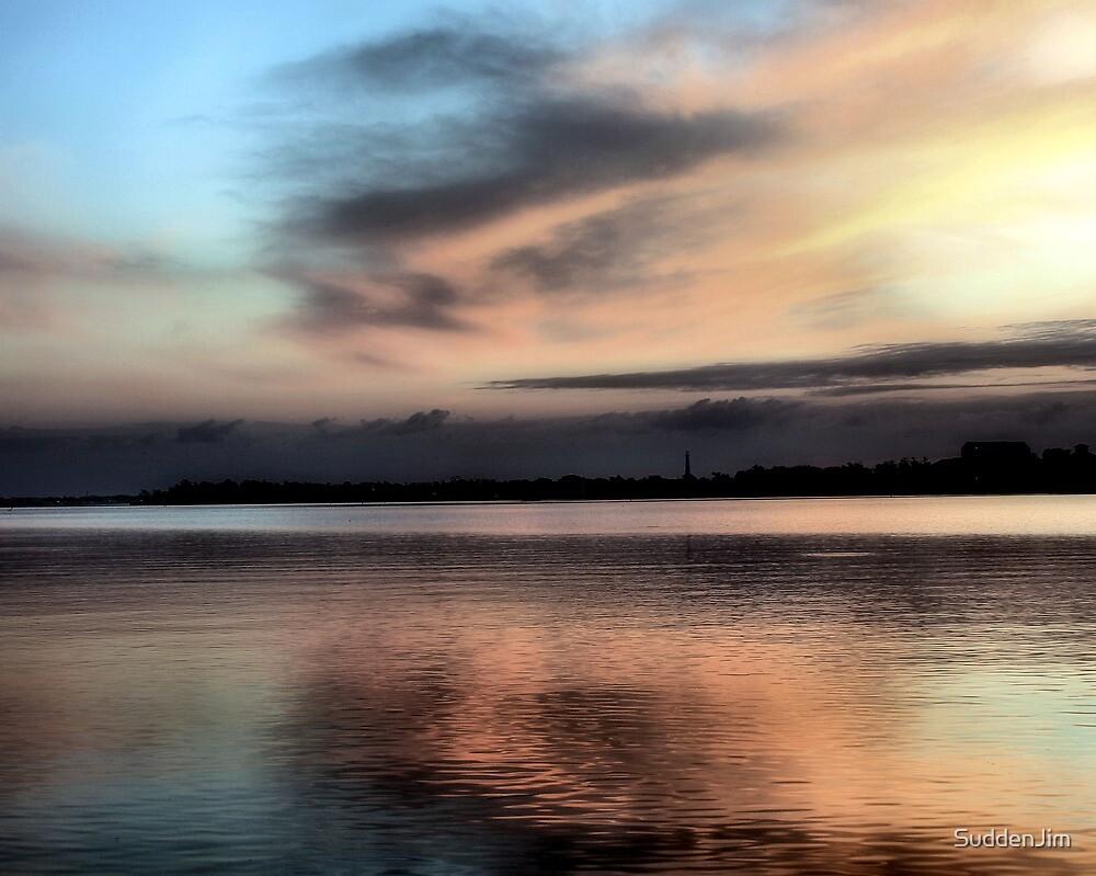 Sunset On The Bay by SuddenJim