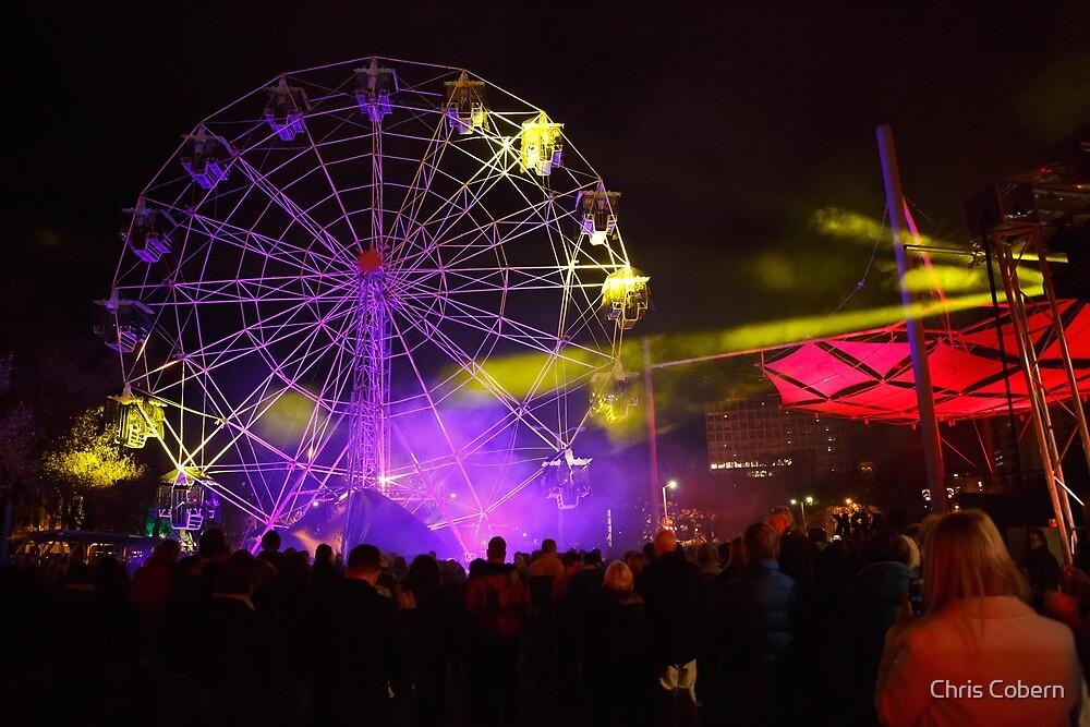 Dark MOFO, Ferris Wheel #2 by Chris Cobern