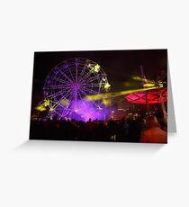 Dark MOFO, Ferris Wheel #2 Greeting Card