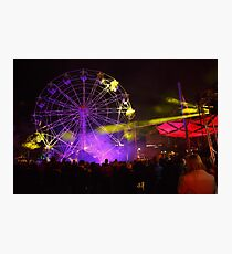 Dark MOFO, Ferris Wheel #2 Photographic Print