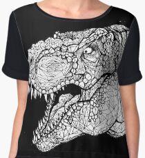 Tyrannosaurus Women's Chiffon Top