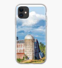 Rural New York Barn iPhone Case