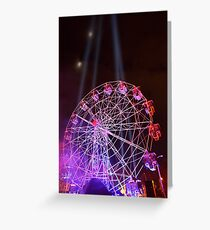 Dark MOFO, Ferris Wheel Greeting Card