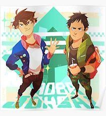 Haikyuu!! - Oikawa and Iwaizumi Poster