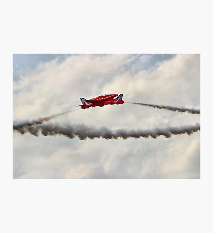 Red Arrows Synchro Pair - Farnborough 2014 Photographic Print