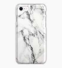 MARBLE - WHITE [iPhone case] iPhone Case/Skin