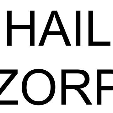 HAIL ZORP from Parks and Rec by SillySilhouette