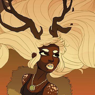 Deer Queen by NomadicPlanet
