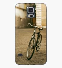 lonely bicycle Case/Skin for Samsung Galaxy