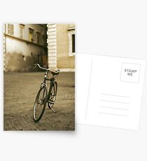 lonely bicycle Postcards