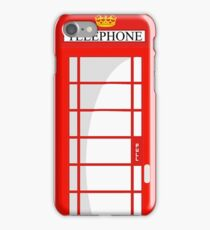 London Telephone 578 iPhone Case/Skin
