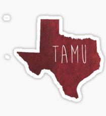 Texas A&M University Sticker