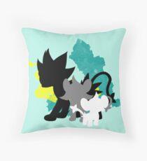 Luxray Family Throw Pillow
