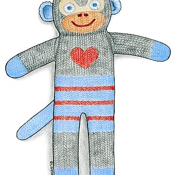 Sock Monkey by laurajholman