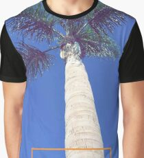 Newport Beach California Palm Tree Graphic T-Shirt