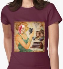 Cat Lady Women's Fitted T-Shirt