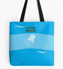 Go with the Flow Jellyfish Tote Bag
